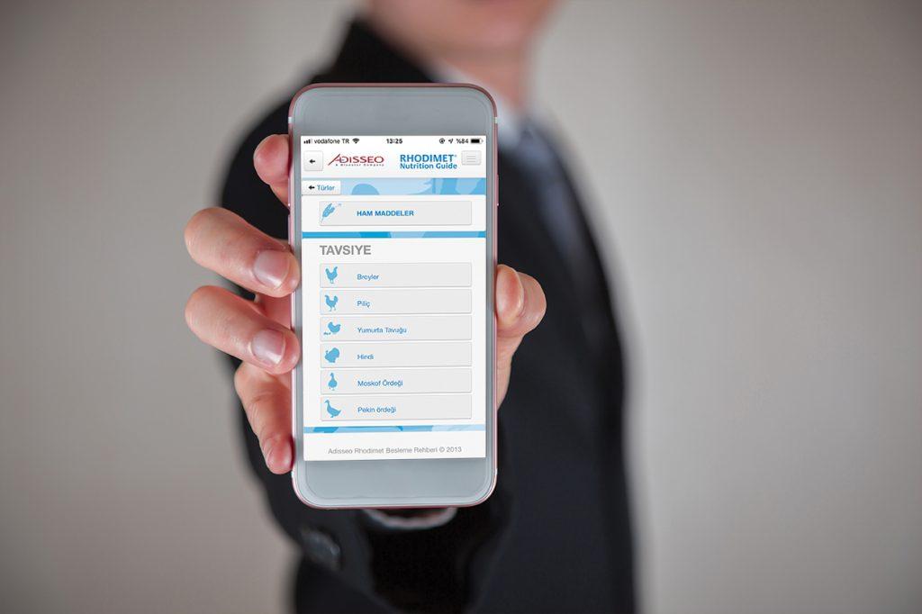 e-Rhodimet Besleme Rehberi akıllı telefonunuzda