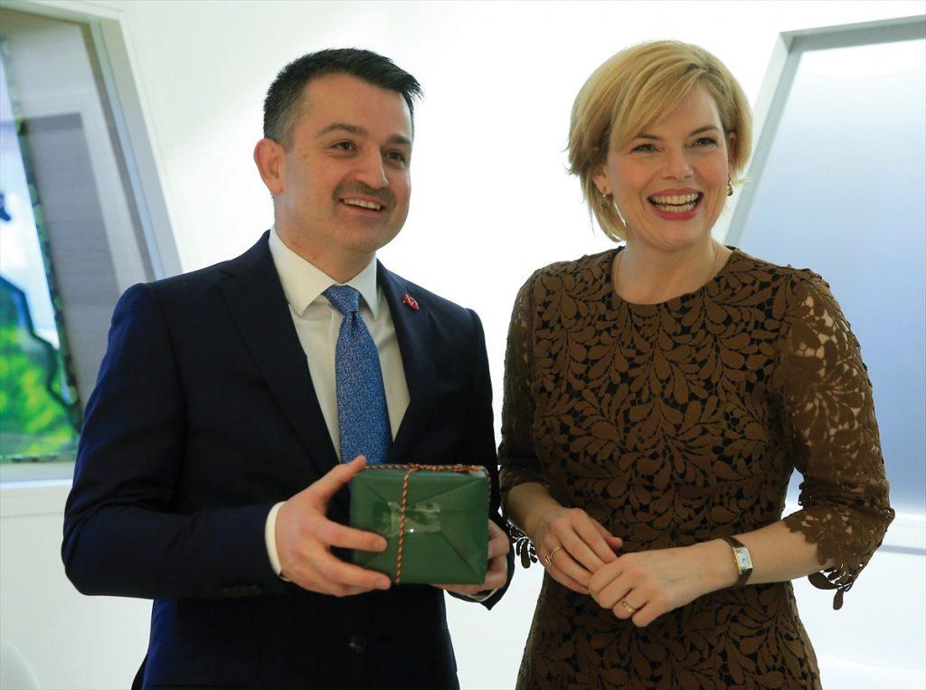 Türkiye ile Almanya arasında  tarımda iş birliği anlaşması imzalandı