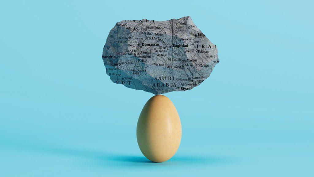 Orta Doğulu yumurta üreticilerinin yaşadığı zorluklar