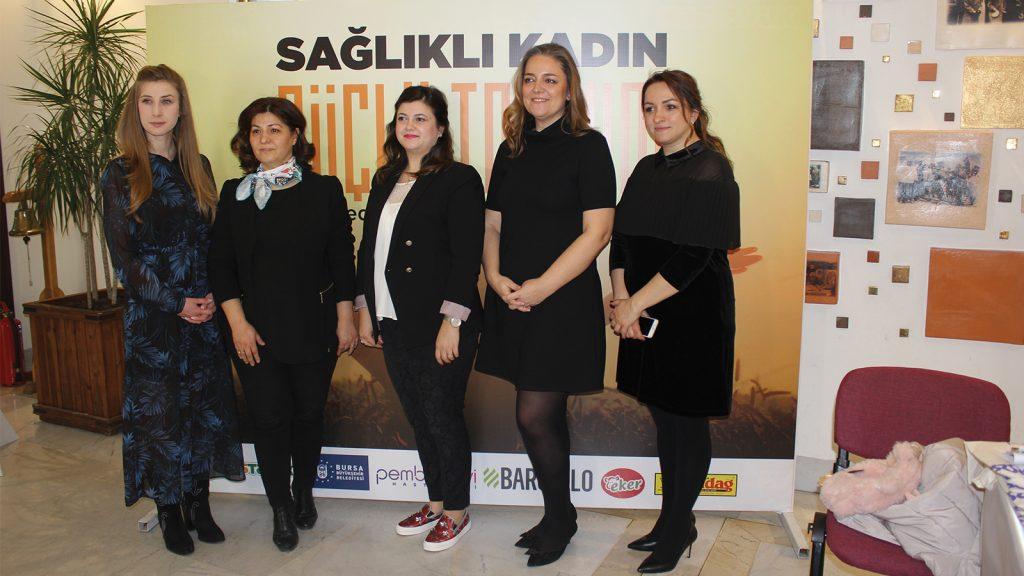 """HasTavuk'tan örnek bir proje: """"Sağlıklı Kadın Güçlü Toplum"""""""