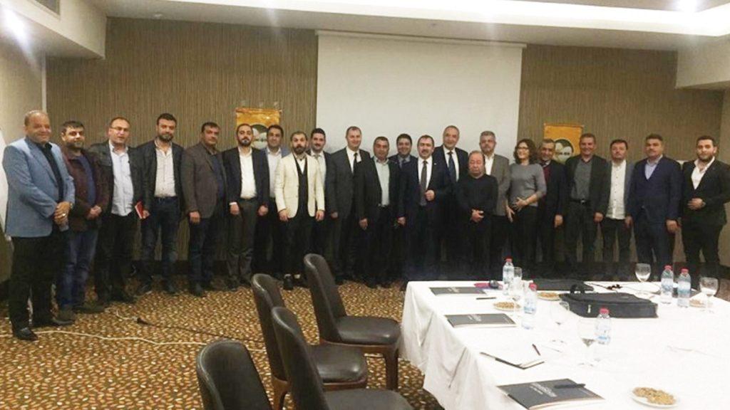 YUM-BİR Yönetimi Gaziantep'te üreticiler ile buluştu