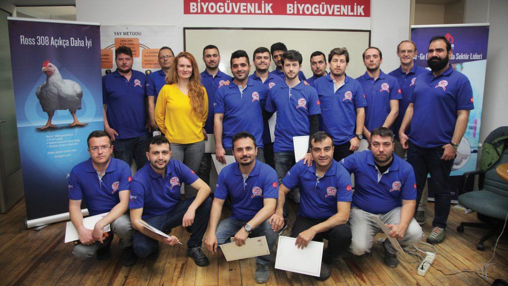 Aviagen Anadolu'nun düzenlediği üçüncü ve dördüncü Havalandırma Okulu Bandırma'da gerçekleştirildi