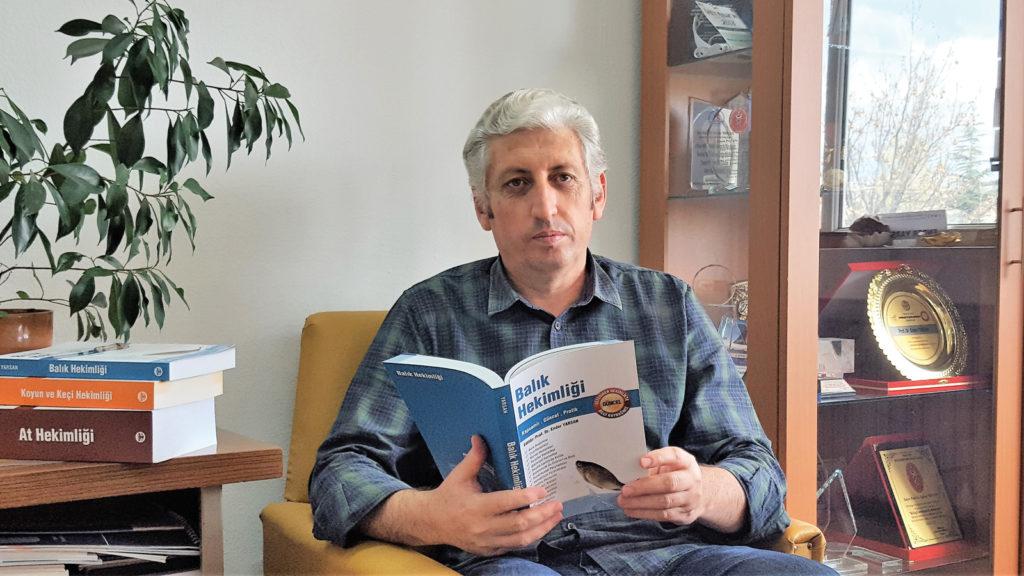 Alanının şimdiye kadarki en güncel  ve kapsamlı kitabı: Balık Hekimliği