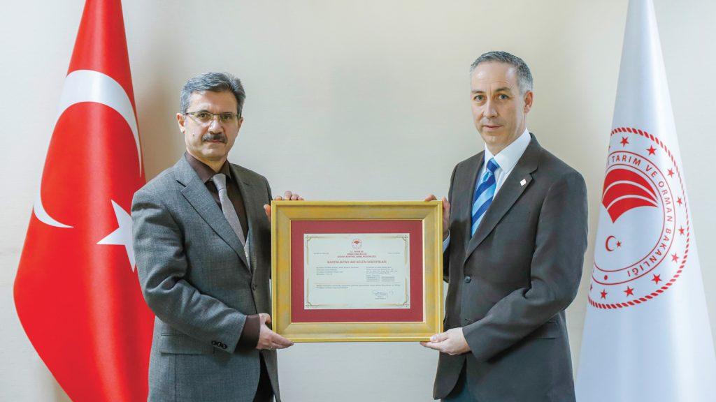 Aviagen Anadolu, Bölüm Statüsü ile bir ilke daha imza attı