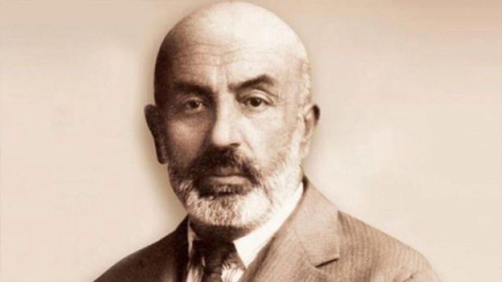 Milli şairimiz ve meslektaşımız Mehmet Akif Ersoy'a özlemle…