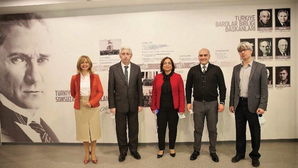 Ankara Üniversitesi Veteriner Fakültesi, Türkiye Barolar Birliği'ni ziyareti etti