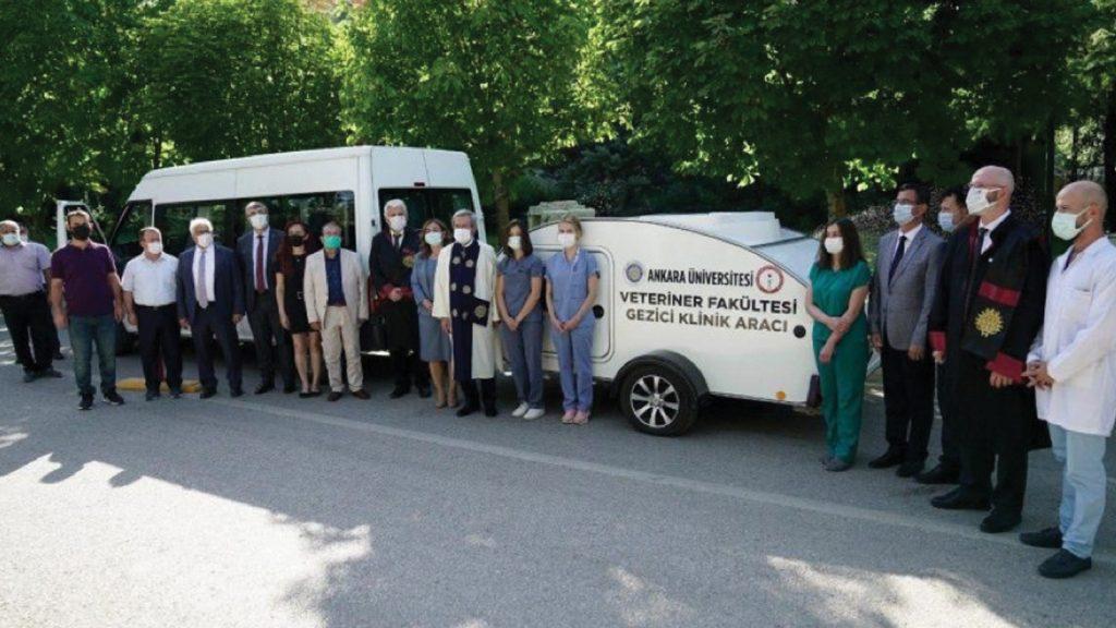 Ankara Üniversitesi Gezici Kliniği Antalya'da yaraları sardı
