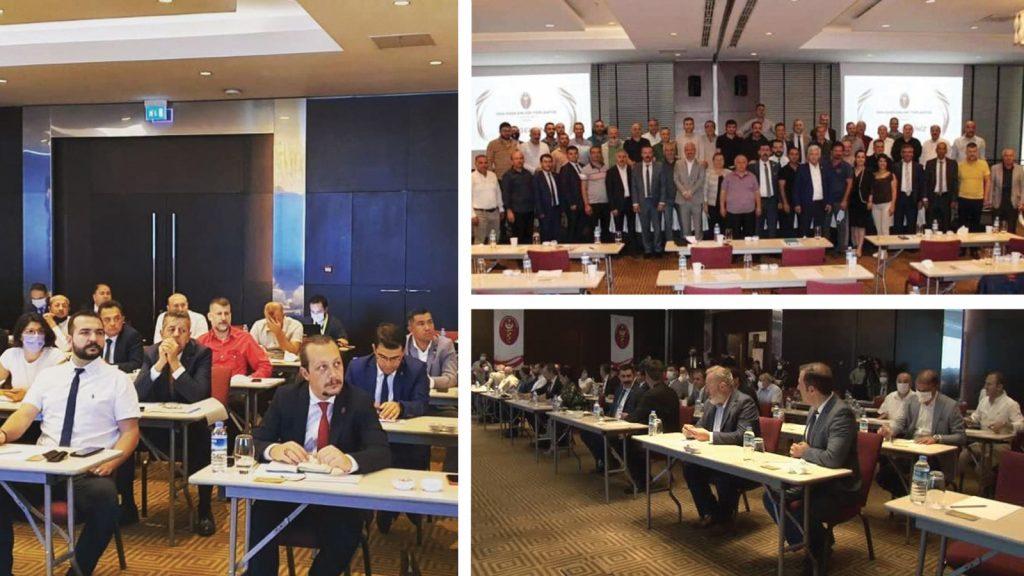 Türk Veteriner Hekimleri Birliği Oda Başkanları toplantısı yapıldı